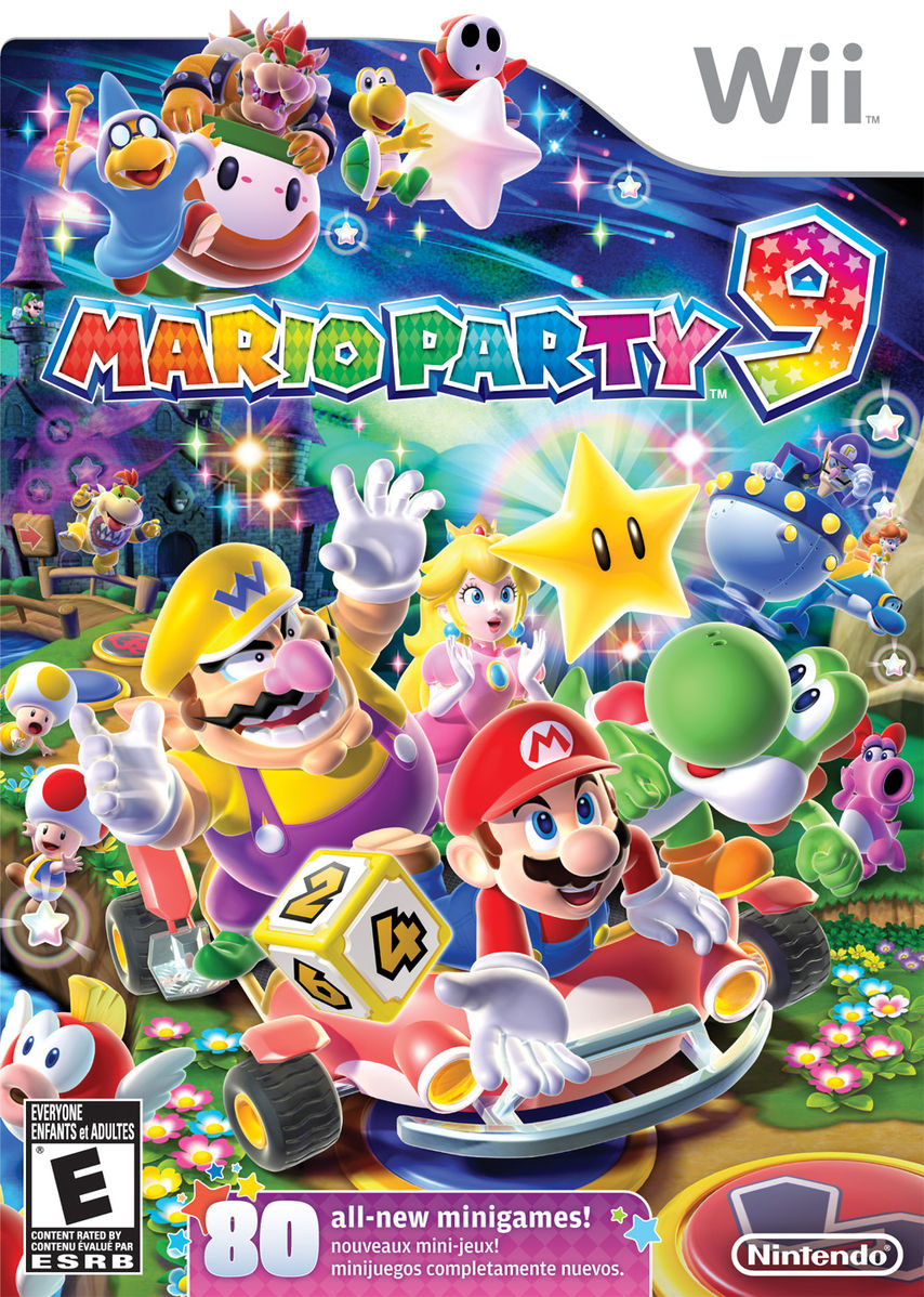 Mario Party 9 [NTSC] [Multi3-Español] [Wii] [UL-LB]