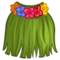 Green Grass Skirt Costume-icon