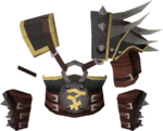 Bandos chestplate detail