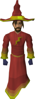 Infinity robes (Fire) equipped old