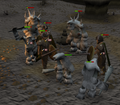 The Fremennik Isles honour guard and trolls.png