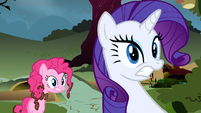 Rarity & Pinkie Pie super worried S2E19