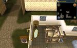 Simple clue Falador shield shop drawers