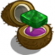Hawaiian Paradise Platinum Emerald Unwither Ring-icon