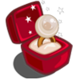 Winter Wonderland Gold Pearl Unwither Ring-icon