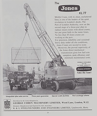 JONES KL77 Yardcrane