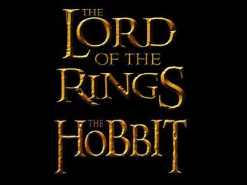 The Lord of the RIngs. the Hobbit. Logo