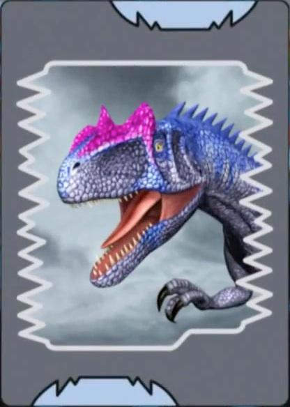 Allosaurus card jpgDinosaur King Megalosaurus Card