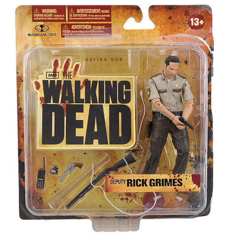 The Walking Dead Series One 5 inch Action Figure - Deputy Rick Grimes ...