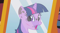 Scar on Twilight's face S2E20