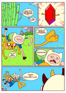 Adventure time comic page 2