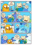 Adventure time comic page 11