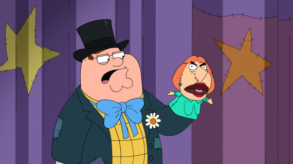 Family Guy Season 10 Episode 18 You Can't Do That On Television, Peter