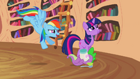 Rainbow, Twilight and Spike S2E20