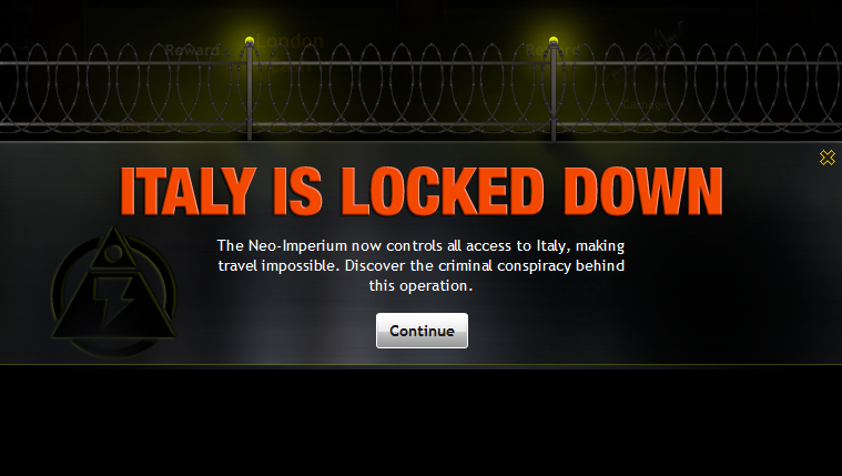 Italy Locked