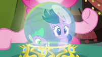 Twilight & Spike gazing in S2E20