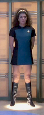 Deanna Troi, Skant Uniform