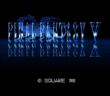 FFV SNES Title Screen