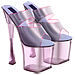 Standard 75x75 collect prism heels