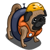 River Float Pug-icon
