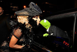 Lady gaga kermit