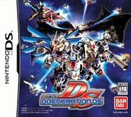 SD Gundam G Generation DS Front Cover