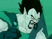 Rey Vegeta transformandose