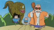 Roshi's training