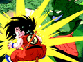 Goku defeated