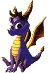 Spyro 1 - Sitting