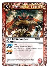 Battle spirits Promo set The_Commander_Dragno