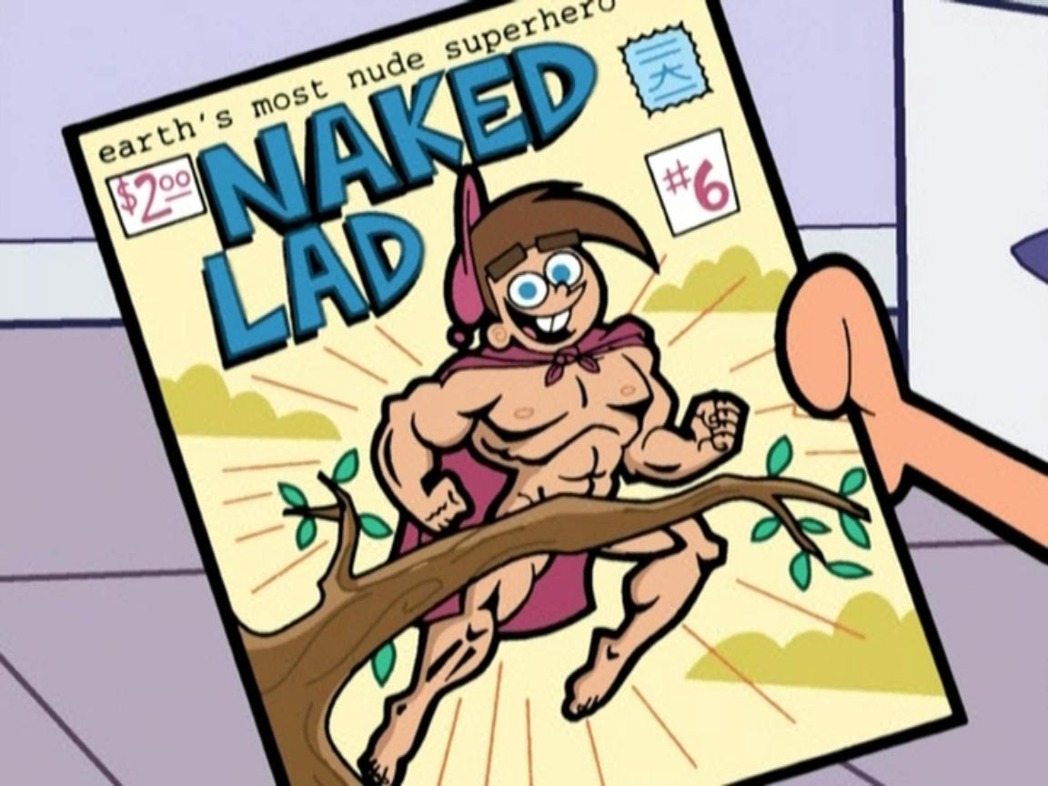 Naked Lad Fairly Odd Parents Wiki Timmy Turner And The