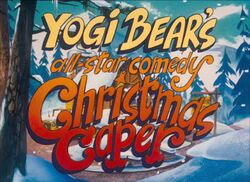 Yogis All-Star Comedy Christmas Caper Title