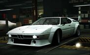 Nfs world bmw m1 procar
