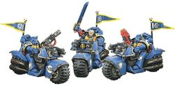 Bike Squadron Ultramarines