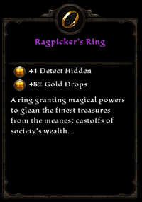 Ragpicker&#39;s ring