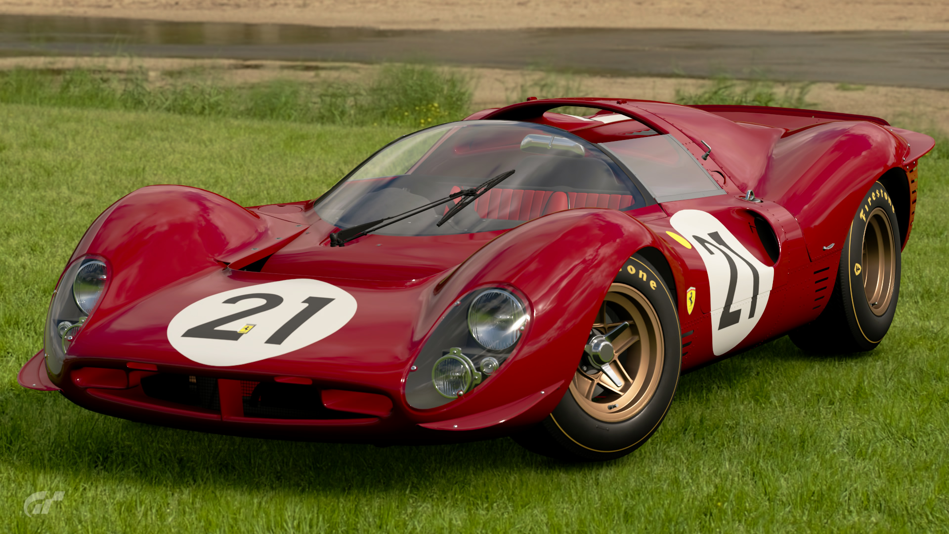 ferrari 330 p4 race car 39 67 gran turismo wiki gran. Black Bedroom Furniture Sets. Home Design Ideas