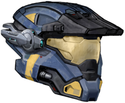 Carter&#39;s helmet coloured