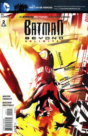 Cover for Batman Beyond Unlimited #2