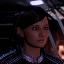 ME3 Samantha Traynor Character Shot