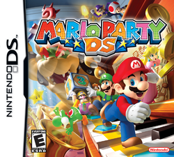 Mario Party DS - North American Boxart