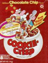 Cookie crisp box