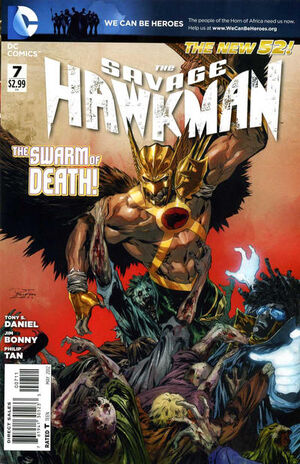 Cover for Savage Hawkman #7