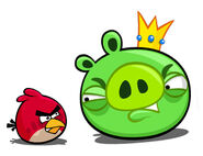 Redbird kingpig faceoff
