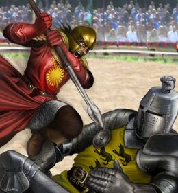 Oberyn fights Gregor Clegane by M.Luisa Giliberti