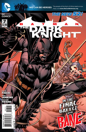 Cover for Batman: The Dark Knight #7