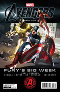 Marvel The Avengers Prelude Fury&#39;s Big Week Vol 1 3 Cover 2