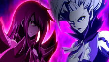 Erza and Mirajane ready to fight