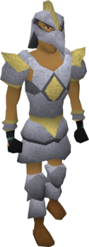 Armadyl armour worn old