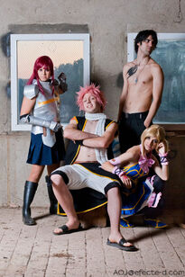 Team Natsu Cosplay